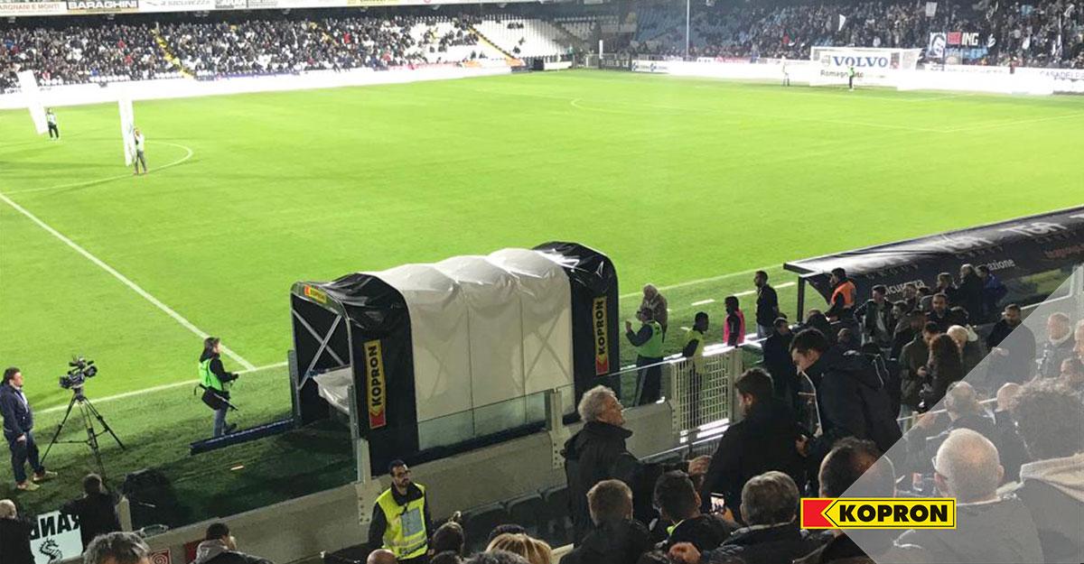 Tunnel-sportivo-ingresso-campo-per-cesena-calcio-kopron